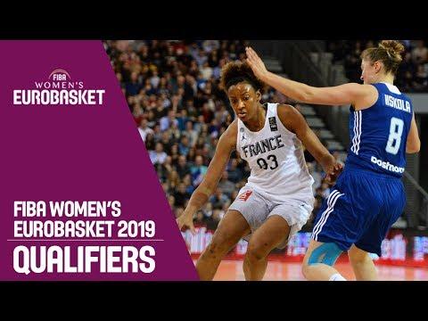 France v Finland - Full Game - FIBA Women's EuroBasket 2019 Qualifiers