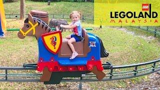 Леголенд #2 СУПЕР Парк аттракционов и развлечения для детей Горки и Карусель Детское Видео 2017 fun