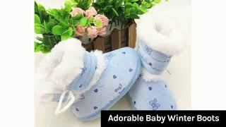 Adorable Baby Winter Boots