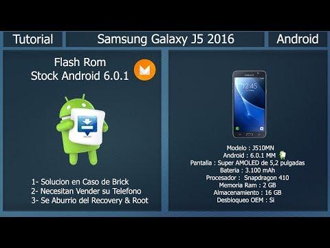Rom Stock - Android 6 0 1 Nougat - Samsung Galaxy J5 2016 J510MN