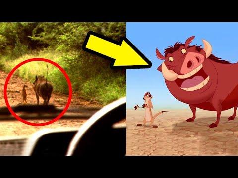10 Personajes Animados Vistos En La Vida Real