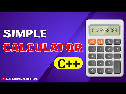 how to make a calculator in c++