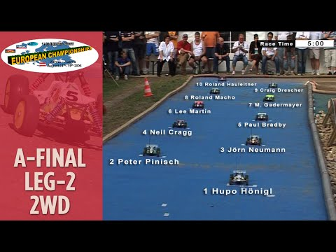 1/10 RC Offroad Buggy European Championship Race - A Final 2wd leg 2