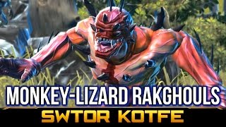 SWTOR KOTFE ► Kowakian-Monkey-Lizard-Rakghoul Pest Control (Knights of the Fallen Empire)