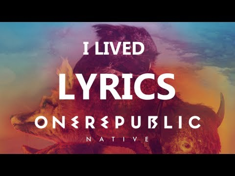 One Republic  I d  Lyrics  Native Album HDHQ
