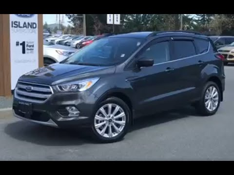 2019 Ford Escape SEL AWD W/ Ford Safe/Smart and Sun/Style Pkg Review  Island Ford
