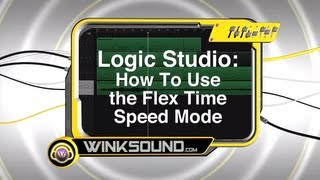 Logic Pro: How To Use the Flex Time Speed Mode