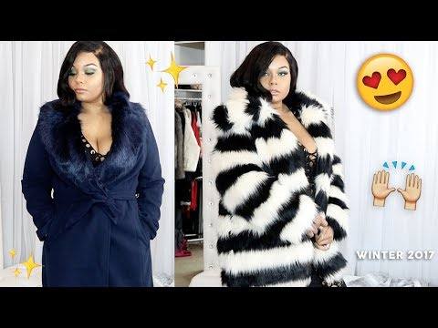 Plus Size Trendy Try On Coat Haul For Sizes