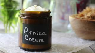 Arnica Cream Recipe For Bumps, Bruises and Sore Muscles