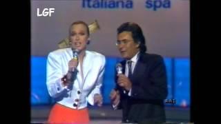 LORETTA GOGGI E ALBANO NOSTALGIA CANAGLIA + promo canzonissime