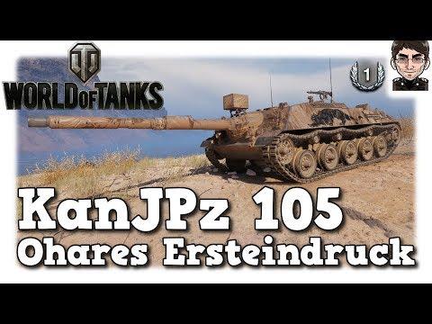 World of Tanks - Kanonenjagdpanzer 105, Ohares Ersteindruck [deutsch | Preview] thumbnail