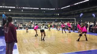 Ielan Bradley #16 - Texas Tornados Volleyball 2018
