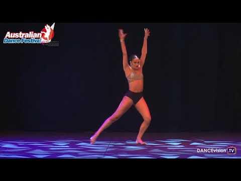 2017 Australian Dance Festival: Hanna Millot, Dance Around The World Solo Competition