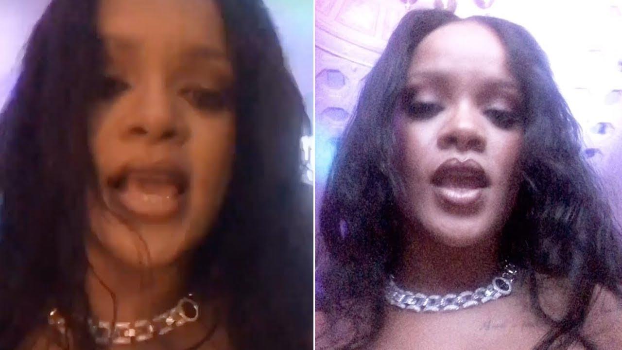 Rihanna - Snapchat Videos COMPILATION 2015/16 - YouTube