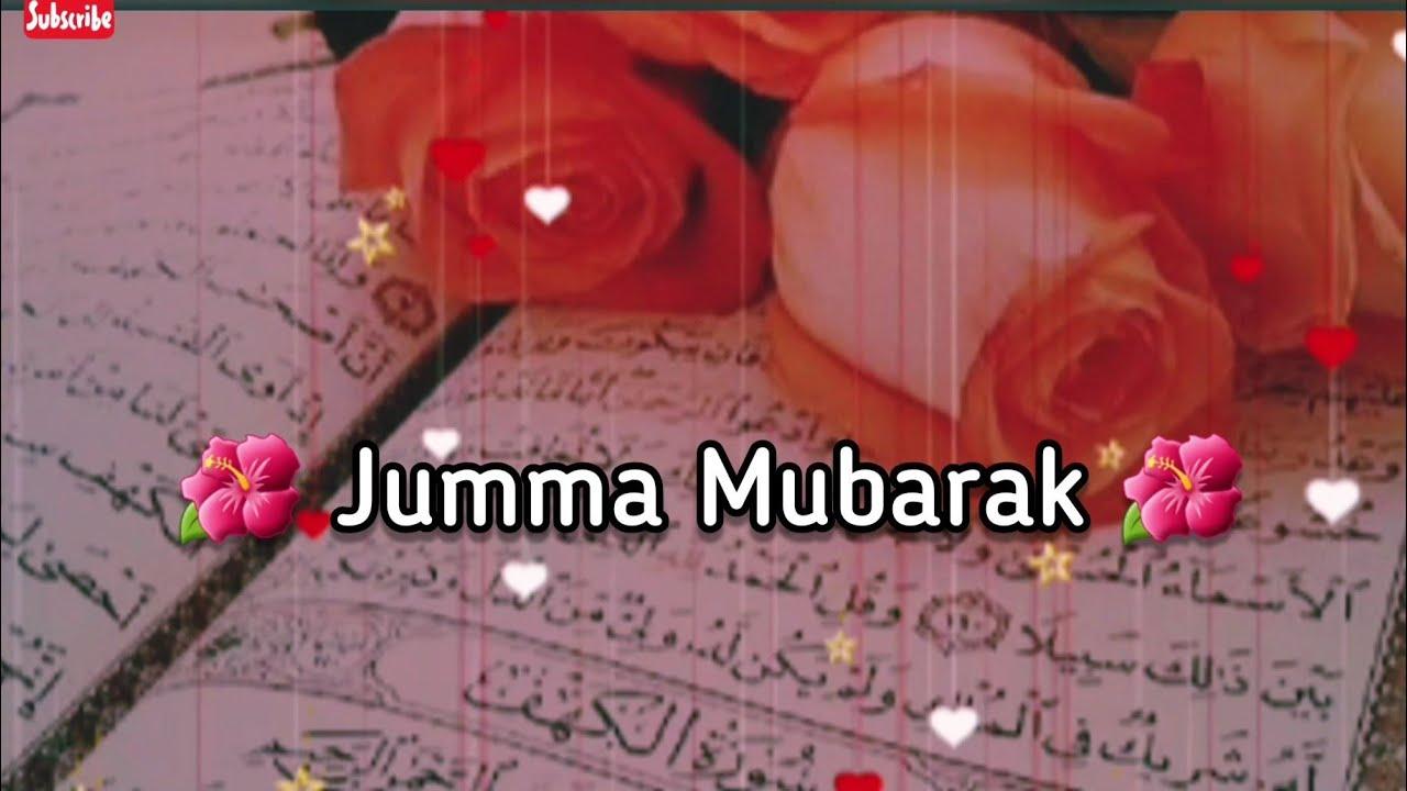 Latest Jumma Mubarak Whatsapp Status Jummamubarak Jumma