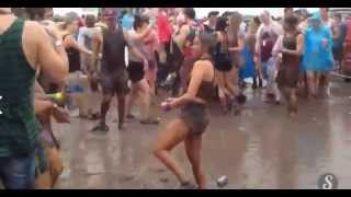 Dancing in the mud!?