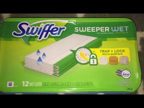 Swiffer Mop With Wet Pad Refills Review
