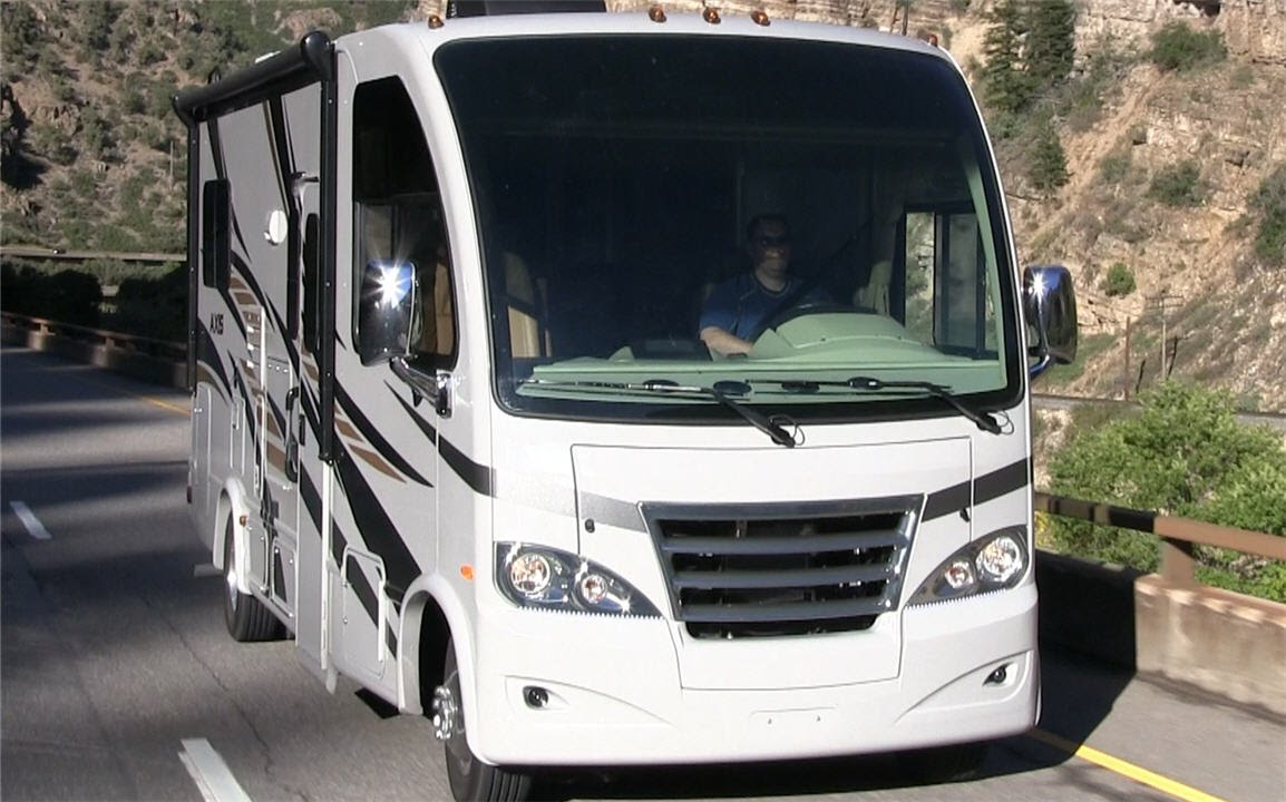 Quick Look At The Thor Axis Motorhomes & Vegas RUV RVs For