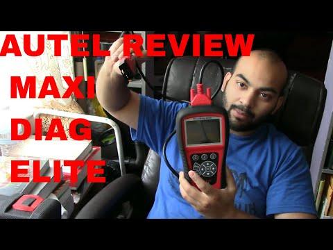 Autel maxi diag elite review