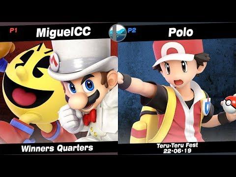 Teru Teru: MiguelCC (Pac-Man, Mario) Vs SS | NF | Polo (Pokémon Trainer) - Winners Quarters