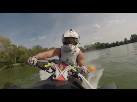 SEADOO RXP X 300 RS Slalom test