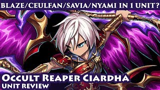 Video Occult Reaper Ciardha Unit Review (Brave Frontier Global) download MP3, 3GP, MP4, WEBM, AVI, FLV November 2018