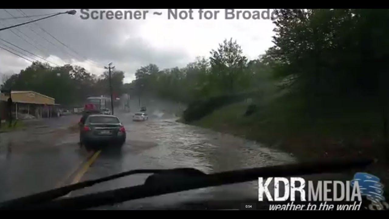 04 20 15 Don Murray Cobb County Ga Tornado Warned Hail Storm And Flooding