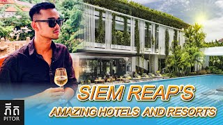 Best Hotel in the world 2019   Viroth's Hotel at Siem Reap, Cambodia   VlogH#1