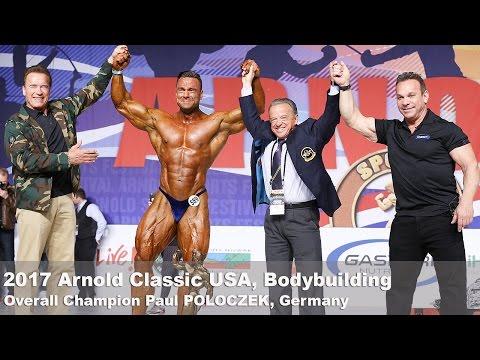 2017 Arnold Classic Amateur USA Bodybuilding OVERALL Paul POLOCZEK