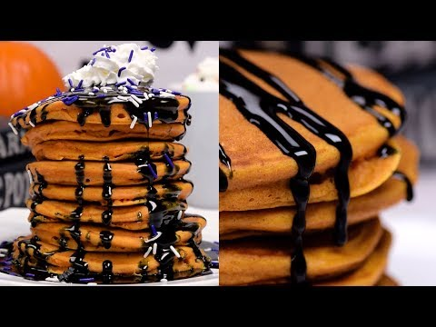 Pumpkin Pancakes | DIY Halloween Recipe Videos | Fun Food Ideas by So Yummy