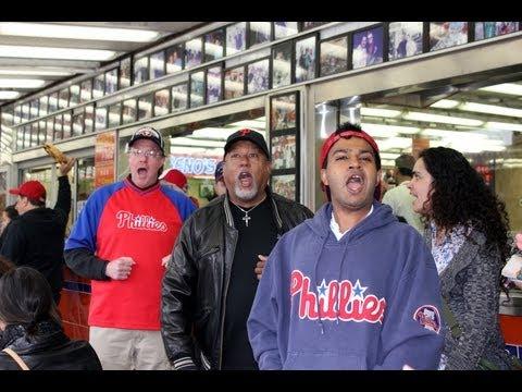 Opera Company of Philadelphia Geno's Steaks Random Act of Culture - April 28, 2012