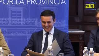 La Mesa del Ferrocarril se reúne con el presidente de la Diputación de Almería