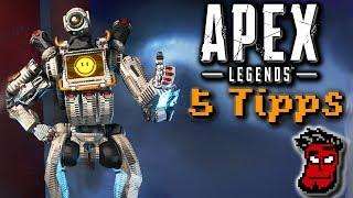 Apex Legends: 5 Tipps! | Gameplay Guide / Tutorial [German Deutsch]