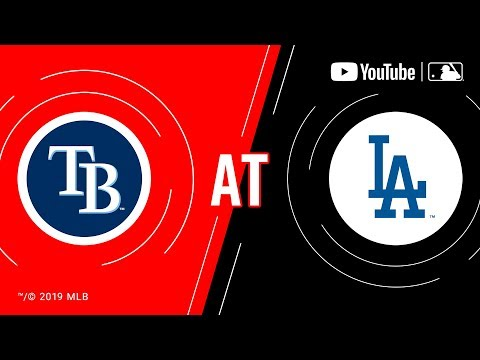 Rays at Dodgers | MLB Game of the Week Live on YouTube