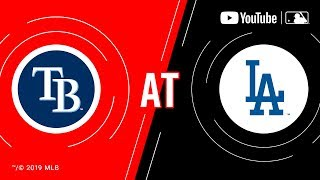 Rays at Dodgers 91719  MLB Game of the Week Live on YouTube