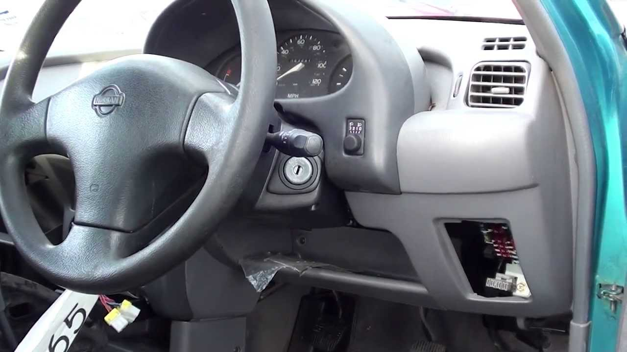 nissan micra diagnostic port location video
