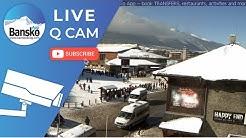 BANSKO SKI ⛷🏂2020 BULGARIA GONDOLA SKI LIFT: Live Queue Cam HD!!  🚌BUS Q, 🚕Taxi Q. (2019/20 Season)