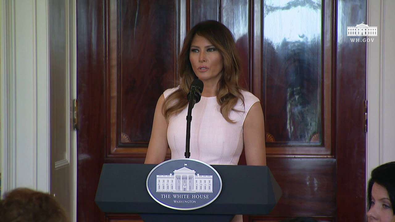 First Lady Melania Trump Delivers Remarks at the Governors ...