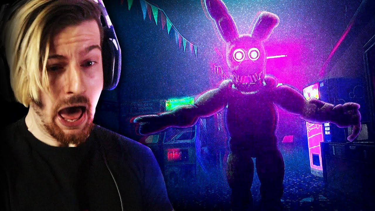 FNAF GAMES IN 2021 HAVE ME SCREAMING. | FNAF: Project Glowstick (Awesome game!)