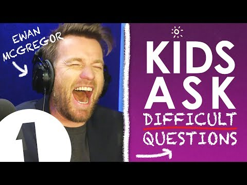 """What will happen after you die?"": Kids Ask Ewan McGregor Difficult Questions"