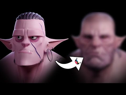 From Stylized To Realism | Sculpting A Troll In ZBrush