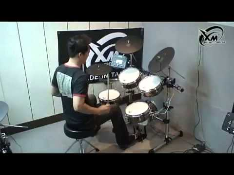 xm-edrum-xmt-5s-pelli-mesh-latin-demo