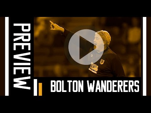 Bolton Wanderers v The Tigers | Preview With Steve Bruce
