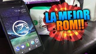 La Mejor Rom De TODAS ANDROID 7.1.2 | 2017 moto G4 play y plus VIPEROS 3.0