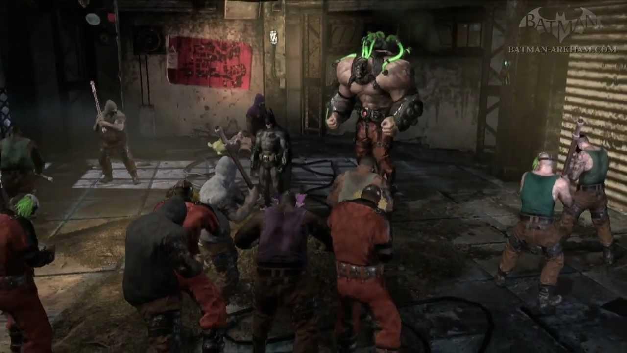 Shiva Live Wallpapers Hd Batman Arkham City Fragile Alliance Bane Side