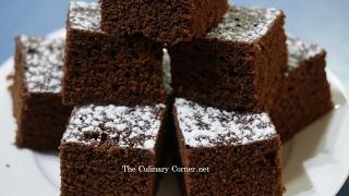 Chocolate brownies in 4 minutes (Microwave recipe)