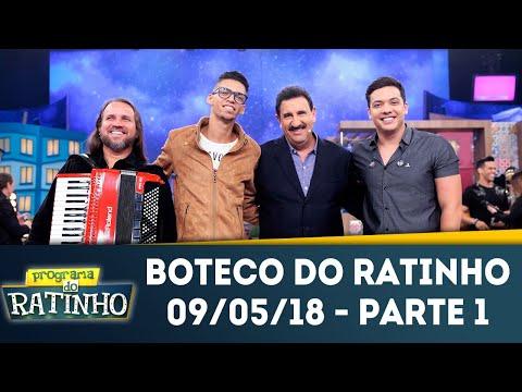 Boteco Do Ratinho - Parte 1 | Programa Do Ratinho (09/05/18)