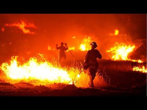 Калифорния(округ Лос-Анджелес)- пожар Томас и 200000 потерпевших.Катастрофические пожары Калифорнии.