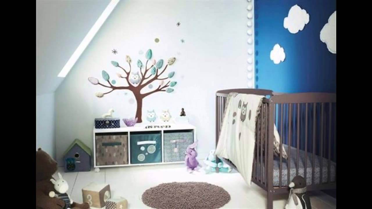 Baby Room Wallpaper Decor Ideas Youtube