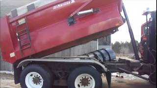 GovDeals: 2005 International 7600 Tandem Dump Truck and Snow